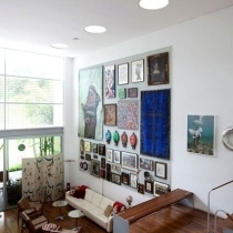 简洁的客厅
