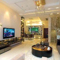 现代喧嚣里的宁静 150平时尚优雅复式空间