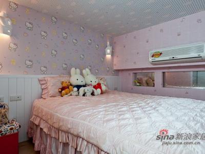 房子会呼吸 12万打造115平轻古典田园屋——儿童房