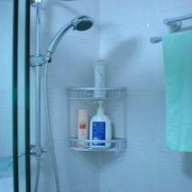 大花洒,装了水泵,所以洗澡的时候很舒服