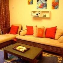 我的梦我的家 秋日色彩浓郁的两室一厅(二)