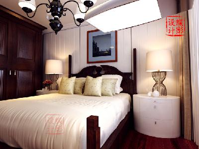 简约美式风格——卧室