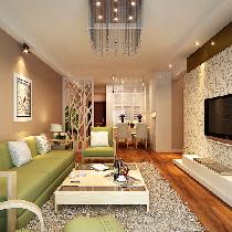13万全包打造上海闵行区94平老房改造温馨两居室