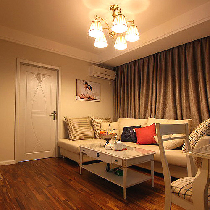 60平精致典雅小户型 很温暖很惬意的家