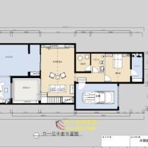 龙湖原山别墅300平中式装修|别墅户型装修设计图欣赏