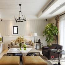 9.8万打造180平淡雅风情 舒适温馨复式公寓