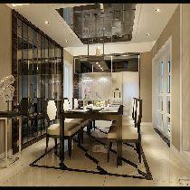 简约时尚国际范儿,现代主义完美三居室设计欣赏
