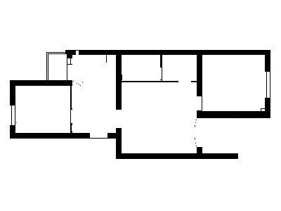 芍药居北里-90平米-地中海风格的装修案例