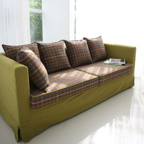 居家躺椅型单人位小布衣沙发,北欧简约风格,小户型温馨感直升,不需要奢侈的摆设,豪华的大厅,只要有为朴就好了。购买链接:http://www.nuandao.com/product/19799