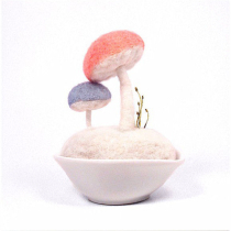 【戳戳乐】针毡蘑菇摆件