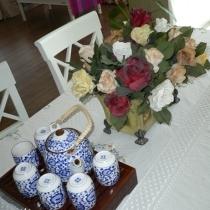 品茶还是品花?