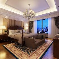 九龙仓(香堤园)别墅装修欧式风格设计方案展示,腾龙别墅设计师周峻作品,咨询预约15800615719