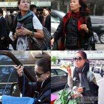 从她拎的包包品牌就可以看出她的奢华程度。