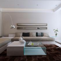 现代简约风格是以简约为主的装修风格,特色是将设计的元素、色彩、照明、原材料简化到最少的程度,但对色彩、材料的质感要求很高。因此,简约的空间设计通常非常含蓄,往往能达到以简胜繁的效果。