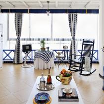 160平多彩地中海风复式 清新小别墅令人惊艳