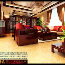 龙发装饰首席设计师许晓舵卓达太阳城别墅餐厅