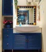 宜家风格的卫浴柜