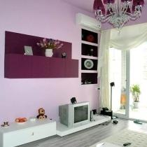 粉紫色的家