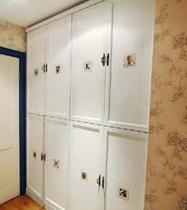 柜门上的装饰