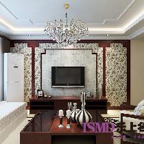 5.4万-两室两厅-新中式风格-石家庄小区