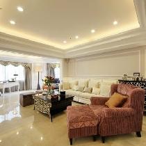 144平简欧风格三居室-长沙实创装饰