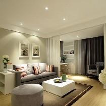 金秋温馨设计,空间最大化利用打造120平简约风尚美家