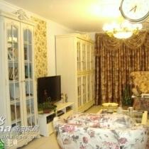 田园豪华精装修的一层带花园的名家二区120平三居室