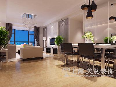 蓝天空港148平装修优雅自在 新中式书香四居室——餐厅效果图