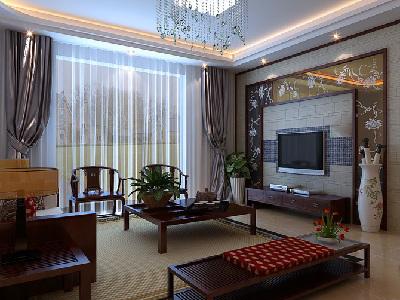 秦皇岛实创打造玉带湾140平新中式书香之家