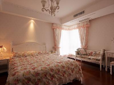 次卧室有些田园风格