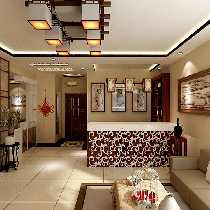 克莱斯特-现代中式-四居室