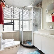 这边是浴室啦~布局很清爽~很整洁