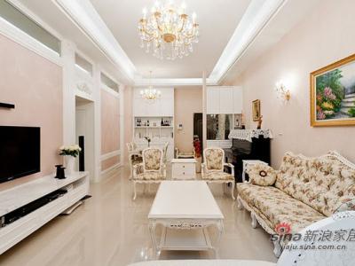 房子会呼吸 12万打造115平轻古典田园屋——客厅