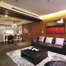浦东新区150平老房翻新现代混搭清新自然不落俗套