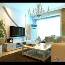 客厅装修济南业之峰装饰 15165197708
