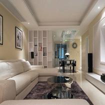 95平简约时尚三居室 塑造现代混搭小清新