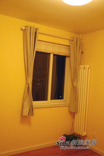 哦,你注意到了,是的,两个卧室的窗帘是一样的