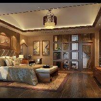 卧室主要以温馨为主,没有浓厚的元素 装修咨询预约:13547851172  QQ:1401879218