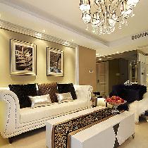 简约加一点古典 139平时尚混搭3居室