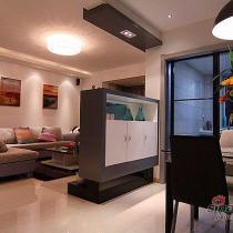 18万打造100平米三室二厅黑白系优雅之家