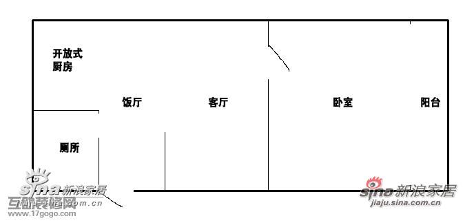 我们家的房型很一般的,我自己画了一个房型图参考一下吧。 右边是南面卫生间和厨房的面积大概都是3平方左右