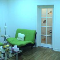 绿色的沙发