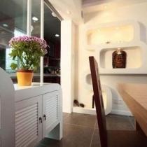餐边柜+壁龛