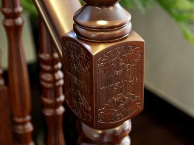 名杉M13款锦绣中华整梯,紫檀木