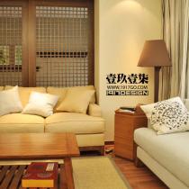 三居室新中式风情18万装现代和风禅意居