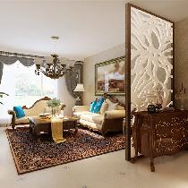 龙湖唐宁ONE-美式风格-三居室