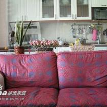 客厅也作了沙发套,很好看