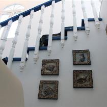 楼梯装饰品