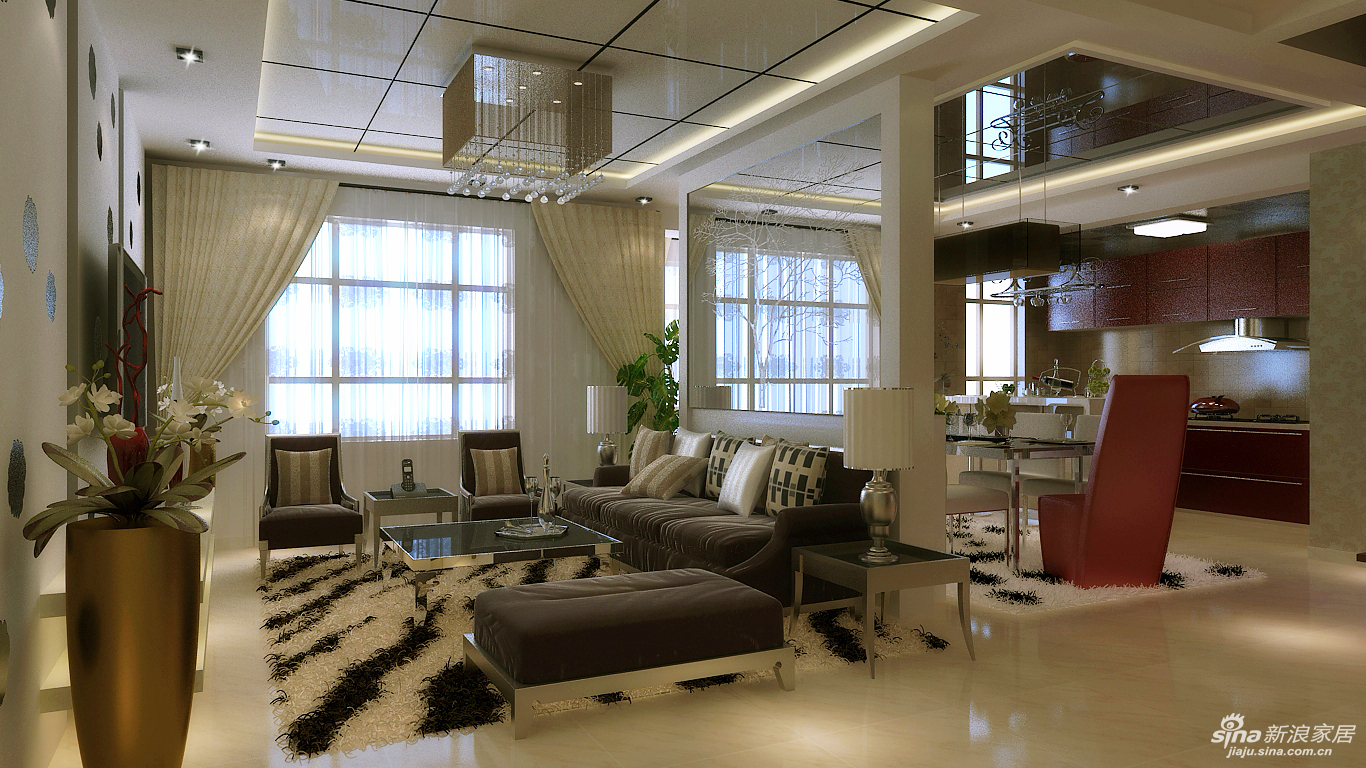 长沙实创装饰-通用时代国际社区装修设计