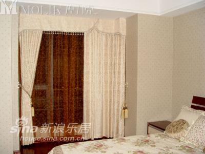 给客人准备的房间 温馨的色彩